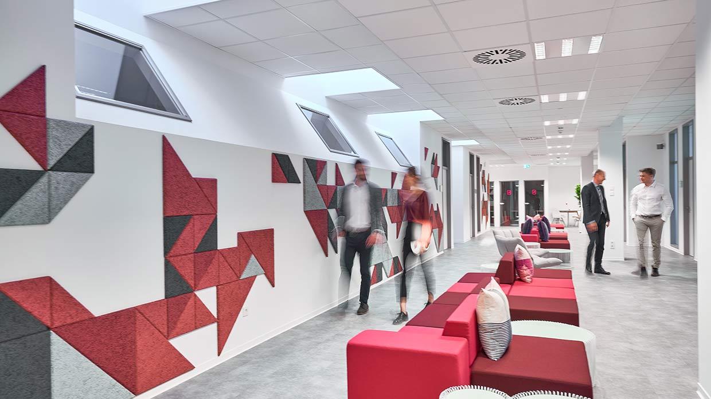Lounges im Business Center Wiesbaden