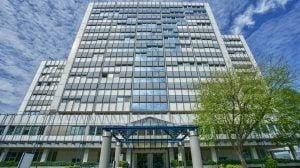 Großes Bürogebäude in Wiesbaden