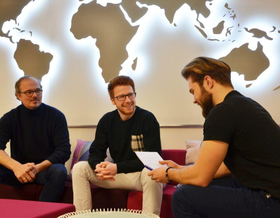Besuch aus Oestrich-Winkel: EBS-Studenten planen das EBSpreneurship Forum 2019