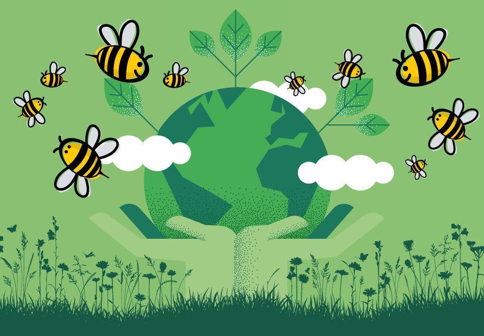 Wir pflanzen Bäume für den Klimaschutz.