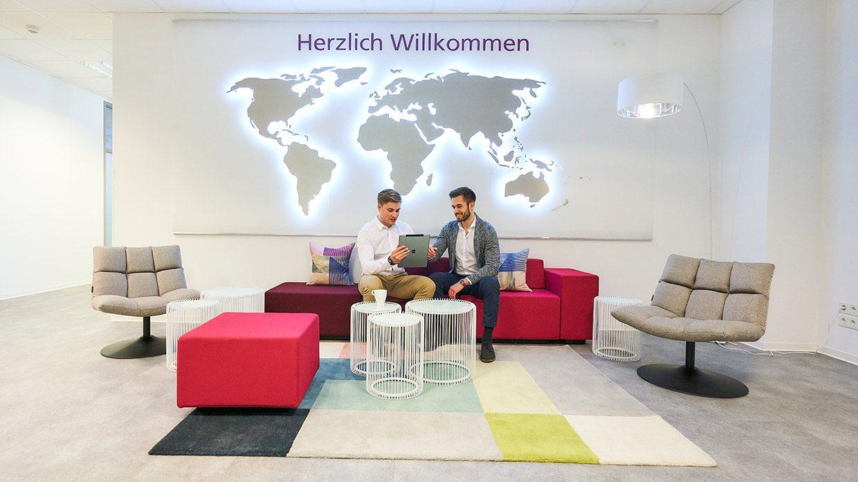 Empfang Büroräume in Wiesbaden