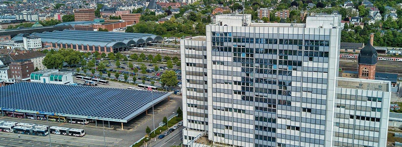 Bürogebäude Business Center in Wiesbaden