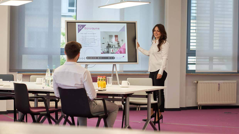 Lounge der Büroräume in Essen