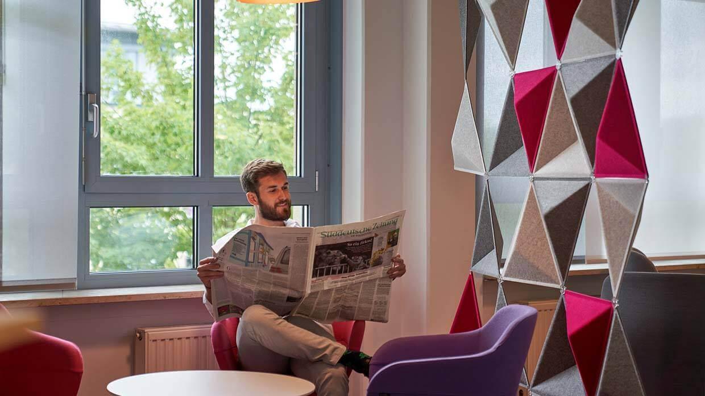 Empfangsbereich Büroräume in Essen