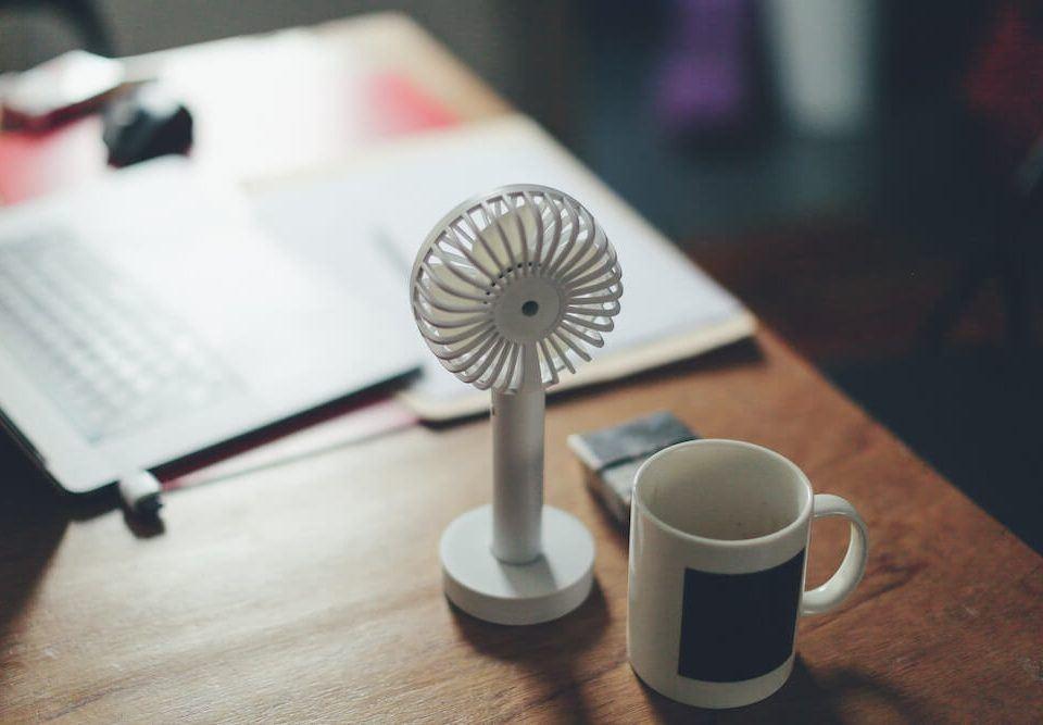 Büro mit Klima